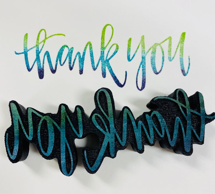 """THANK YOU"" FOAM STAMP"