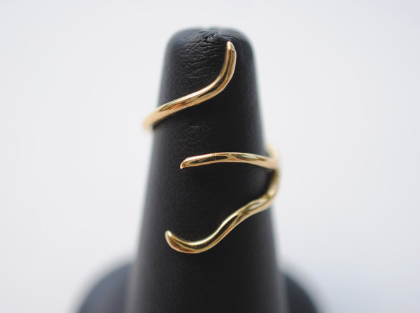 Vine Yellow Gold Roots Ring