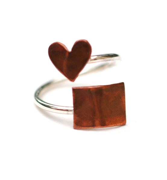 Colorado Heart Place Ring