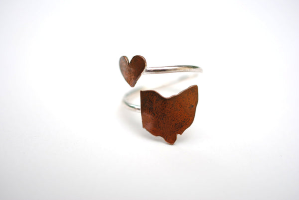 Ohio Heart Place Ring