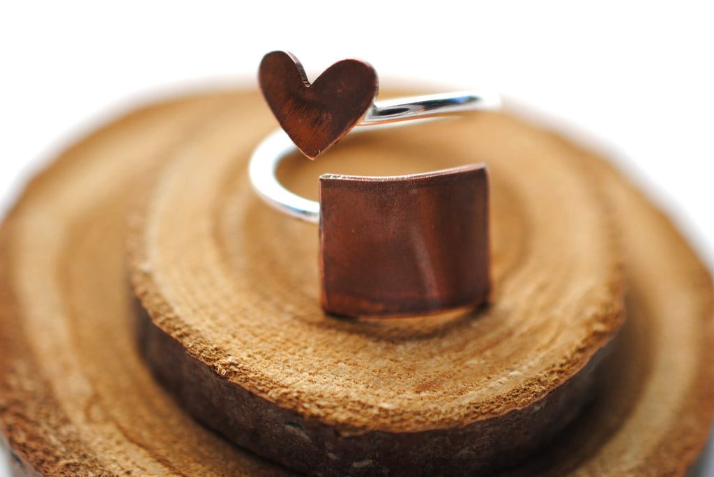 Wyoming Heart Place Ring