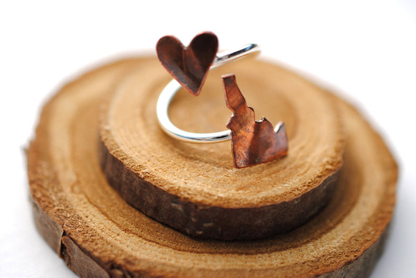 Idaho Heart Place Ring