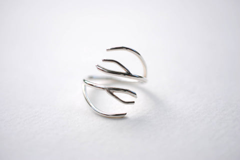 Antler Roots Ring