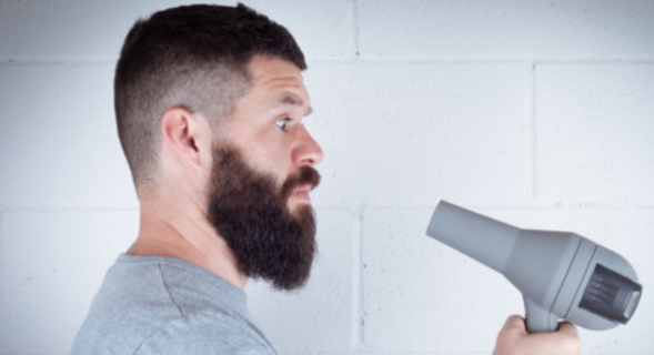 IS BLOW DRYING YOUR BEARD REALLY A GOOD IDEA?