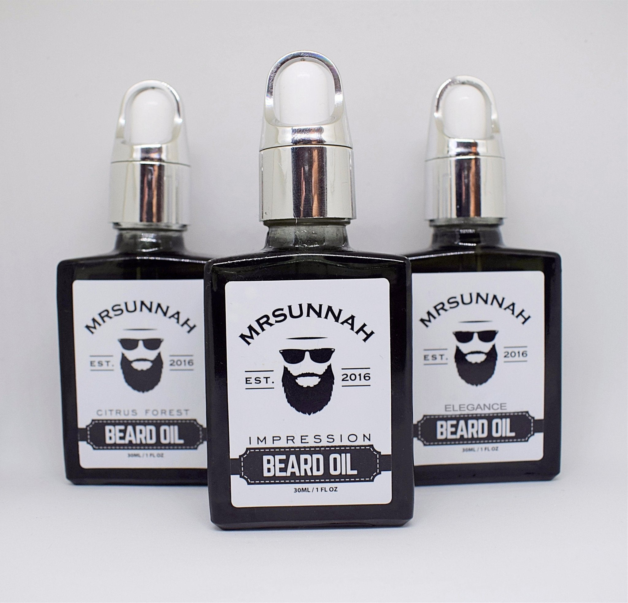 3 Beard Oil Set (30ml)