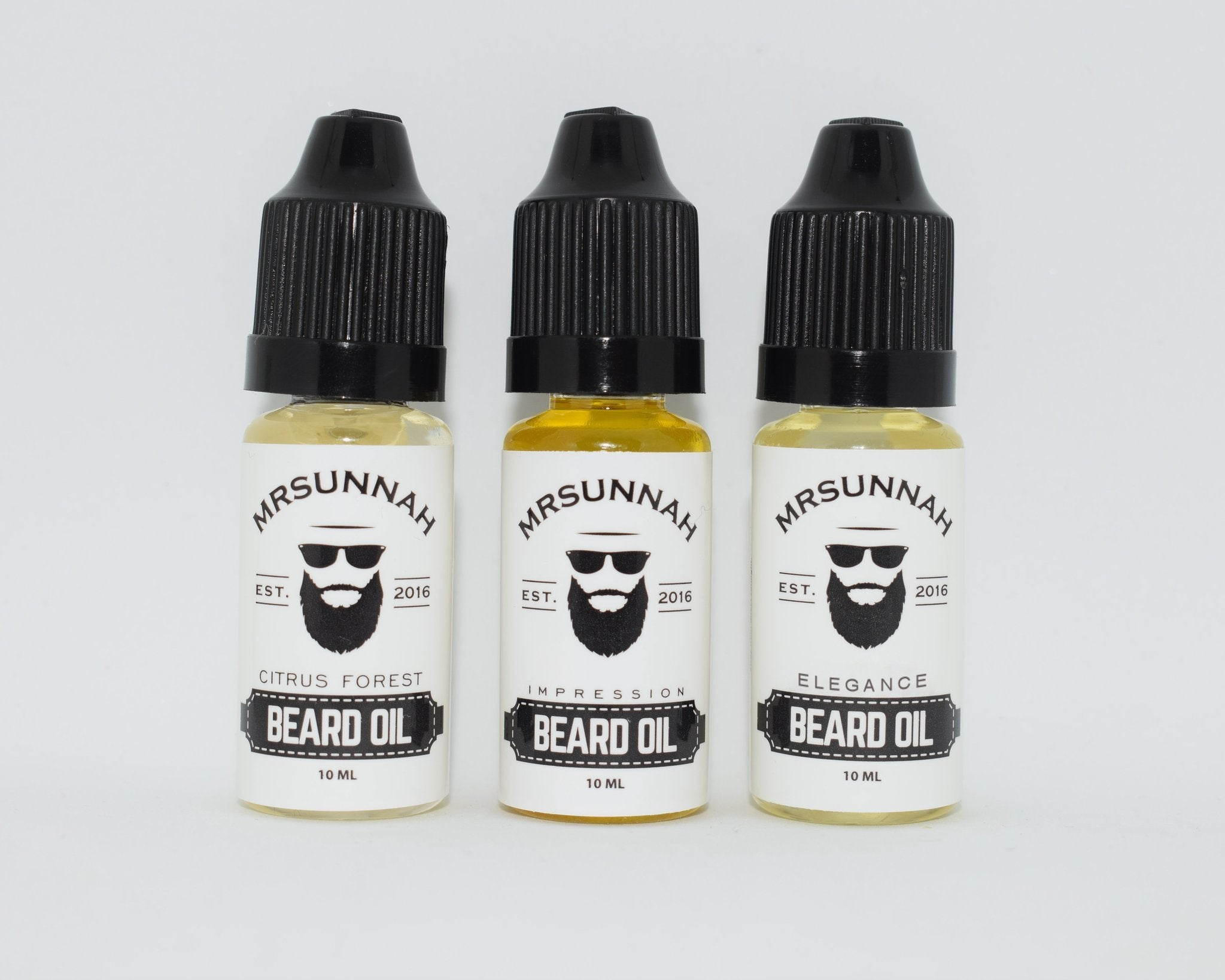 3 Beard Oil Set (10ml)