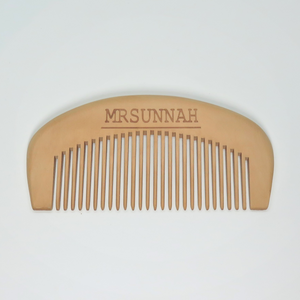 Standard Shaped Beard Comb - Mrsunnah Grooming Co