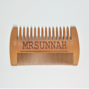 Two Side Beard Comb - Mrsunnah Grooming Co