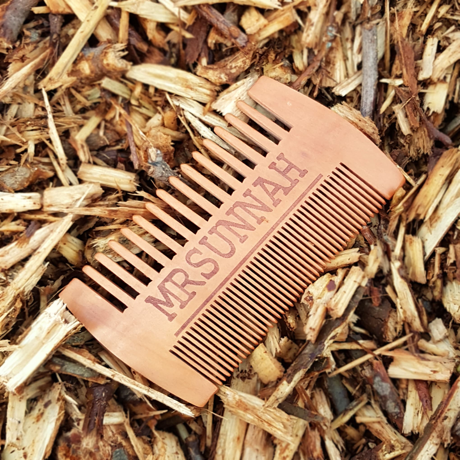 3 Beard Comb Set - Mrsunnah Grooming Co