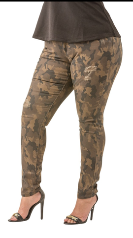 Poetic Justice Camo Pants