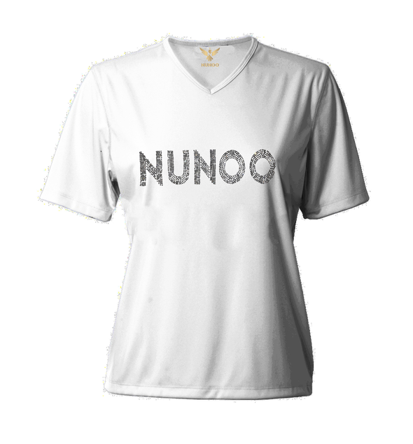 "T-SHIRT V-NECK LS ""DIAMOND NUNOO"""