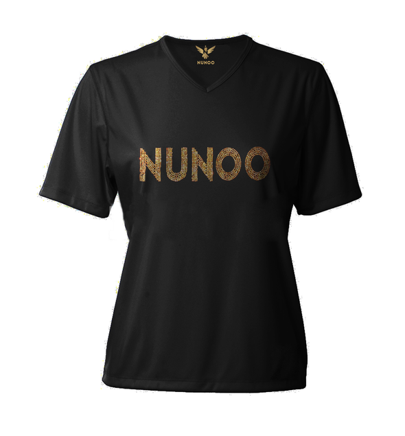 "T-SHIRT V-NECK LS ""GOLDEN NUNOO"""