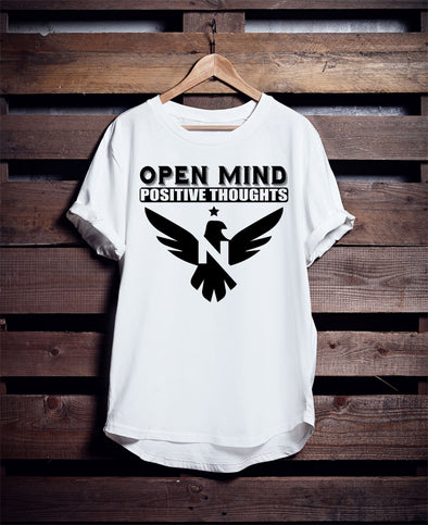"T-SHIRT ROUND NECK SS ""Open Mind"""