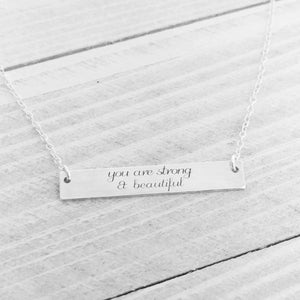 GRACEFULLY MADE Inspirational Necklace