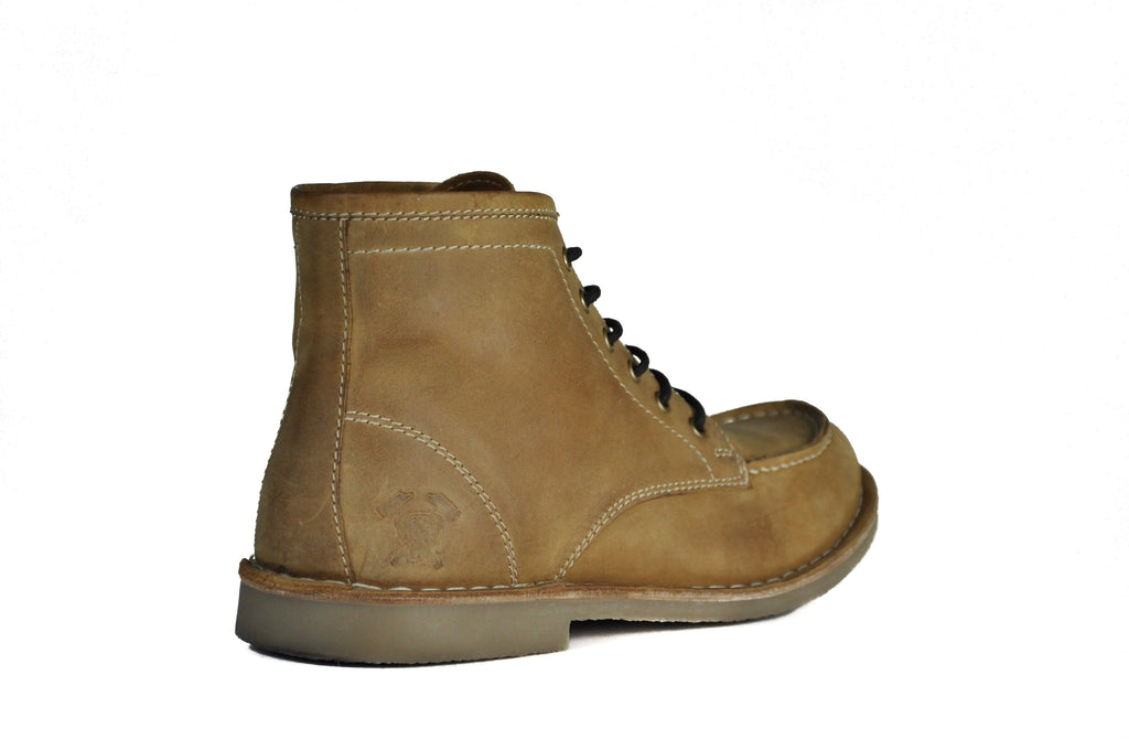 HOUND & HAMMER The Cooper Boot in Crazy Horse Tan Leather