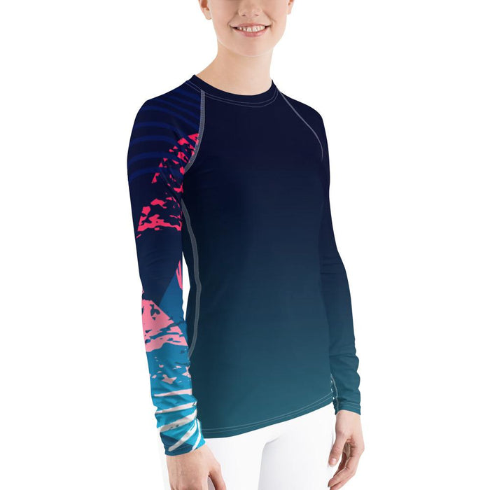 Women's Victory Sleeve Performance Rash Guard UPF 40+