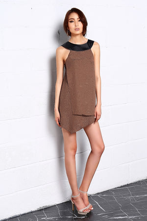 LAGEROSE Embossed In Herbs Dress