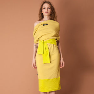 GUZUNDSTRAUS Manifold Dress Wasabi: Reversible