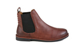 HOUND & HAMMER The Gamble Boot in Oxblood Leather