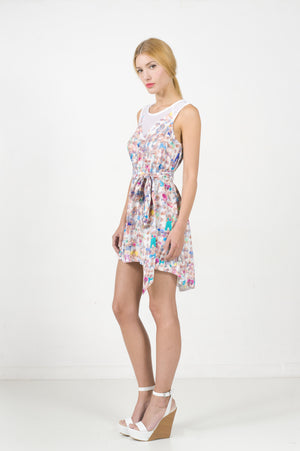 EON PARIS Stadium Print Dress
