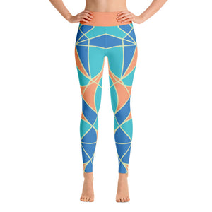 PHILIPP SIDLER Yoga Leggings in Slow Mood