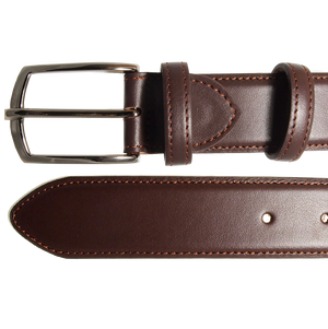 72 SMALLDIVE Buffed Leather Belt in Brown