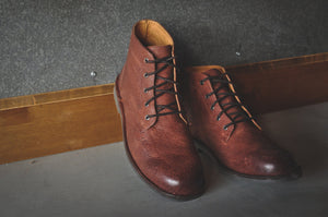 HOUND & HAMMER The Grover in Oxblood Leather