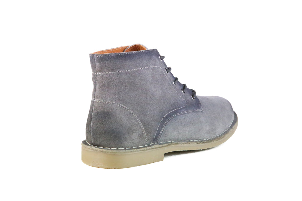 HOUND & HAMMER The Grover in Burnished Grey Suede