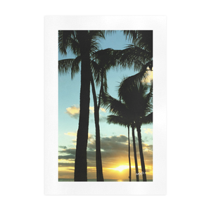 RAWR Hawaiian Sunset Art Print
