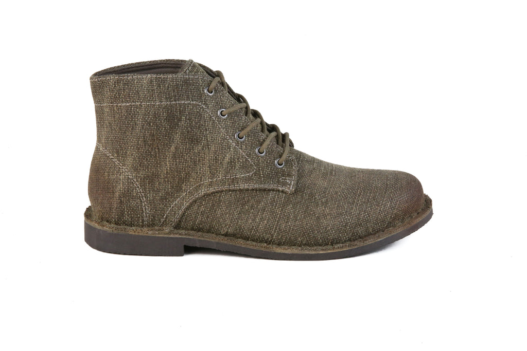 HOUND & HAMMER The Grover in Sage Brown Canvas
