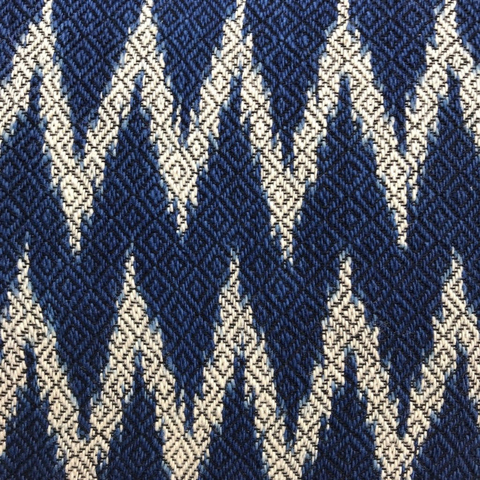SLATE + SALT Indigo Chevron Pillow Cover