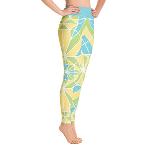PHILIPP SIDLER Yoga Leggings in Emerald Leap