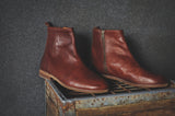 HOUND & HAMMER The Gunnar Boot in Cognac