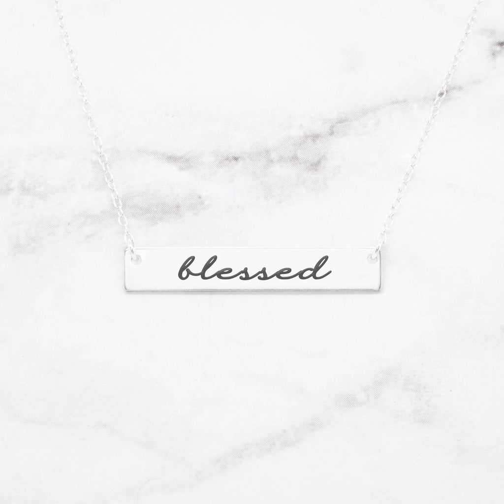 GRACEFULLY MADE Blessed Necklace in Gold