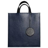 72 SMALLDIVE Leather Tote Bag in Navy