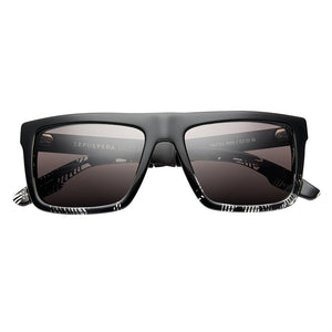IVI VISION Sepulveda in Polished Dazzle with Brushed Black / Grey Lens
