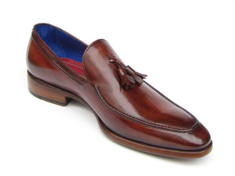 PAUL PARKMAN Tassel Loafer in Brown