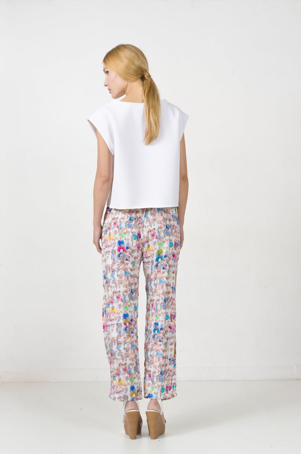 EON PARIS Printed Pants