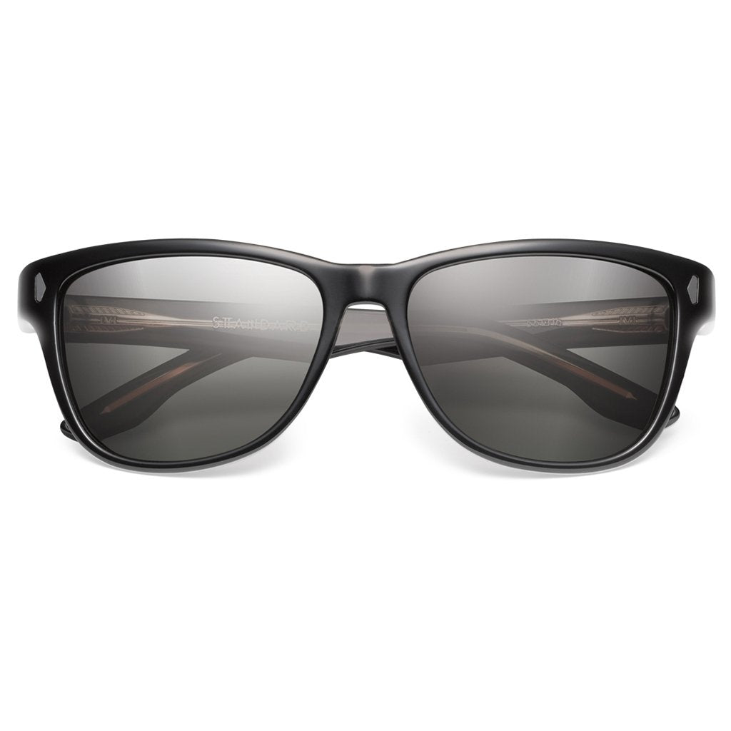 IVI VISION The Standard Sunglasses in Polished Black / Grey Lens