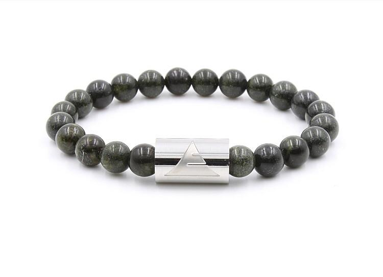 EVERWOOD Rocky Men's Bracelet in Russian Serpentine