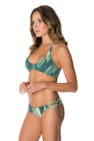 LYBETHRAS Ava Bikini Top in Palm