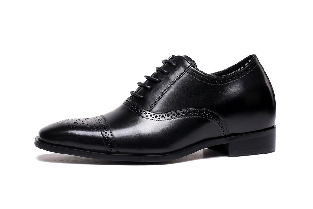 OOFY Tall Oxford Shoes in Black