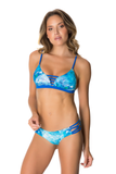 LYBETHRAS Tulum Bikini Top in Sea Shell