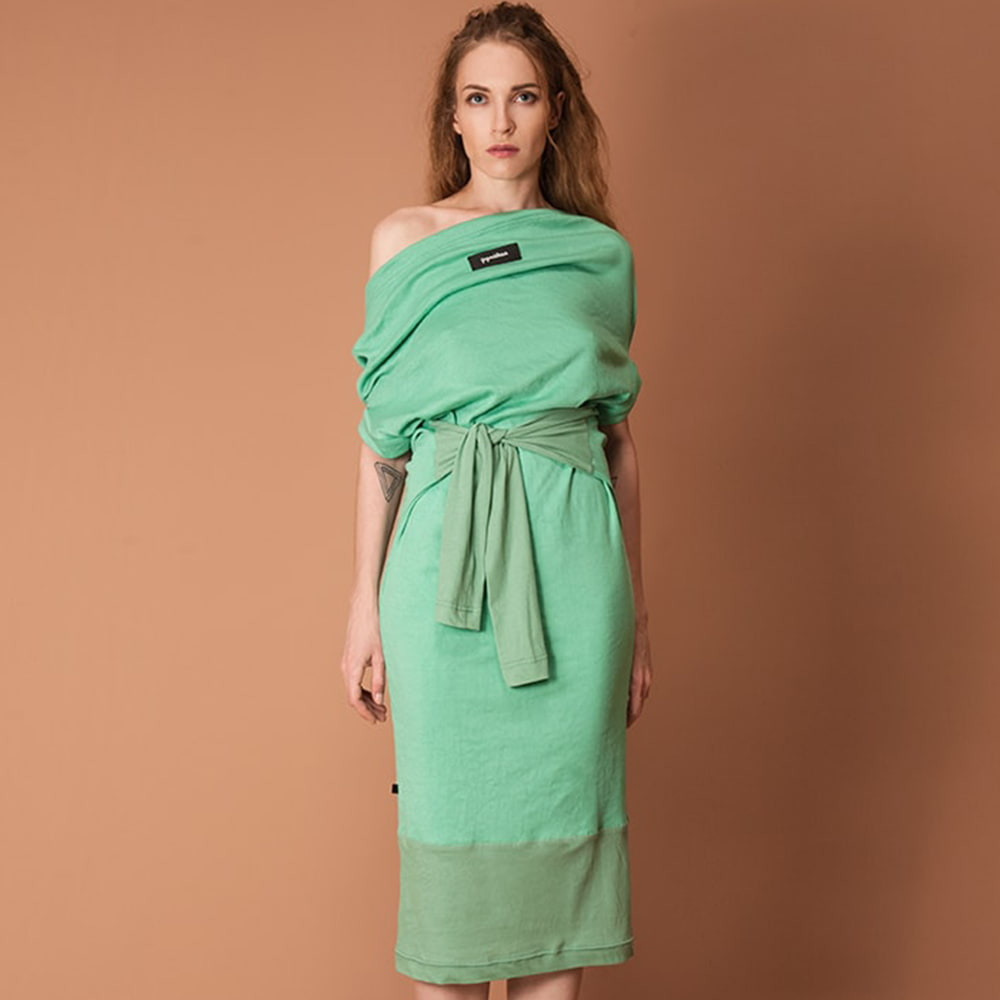 GUZUNDSTRAUS Manifold Dress Mint: Reversible