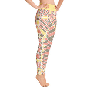 PHILIPP SIDLER Yoga Leggings in Wishful Thinking