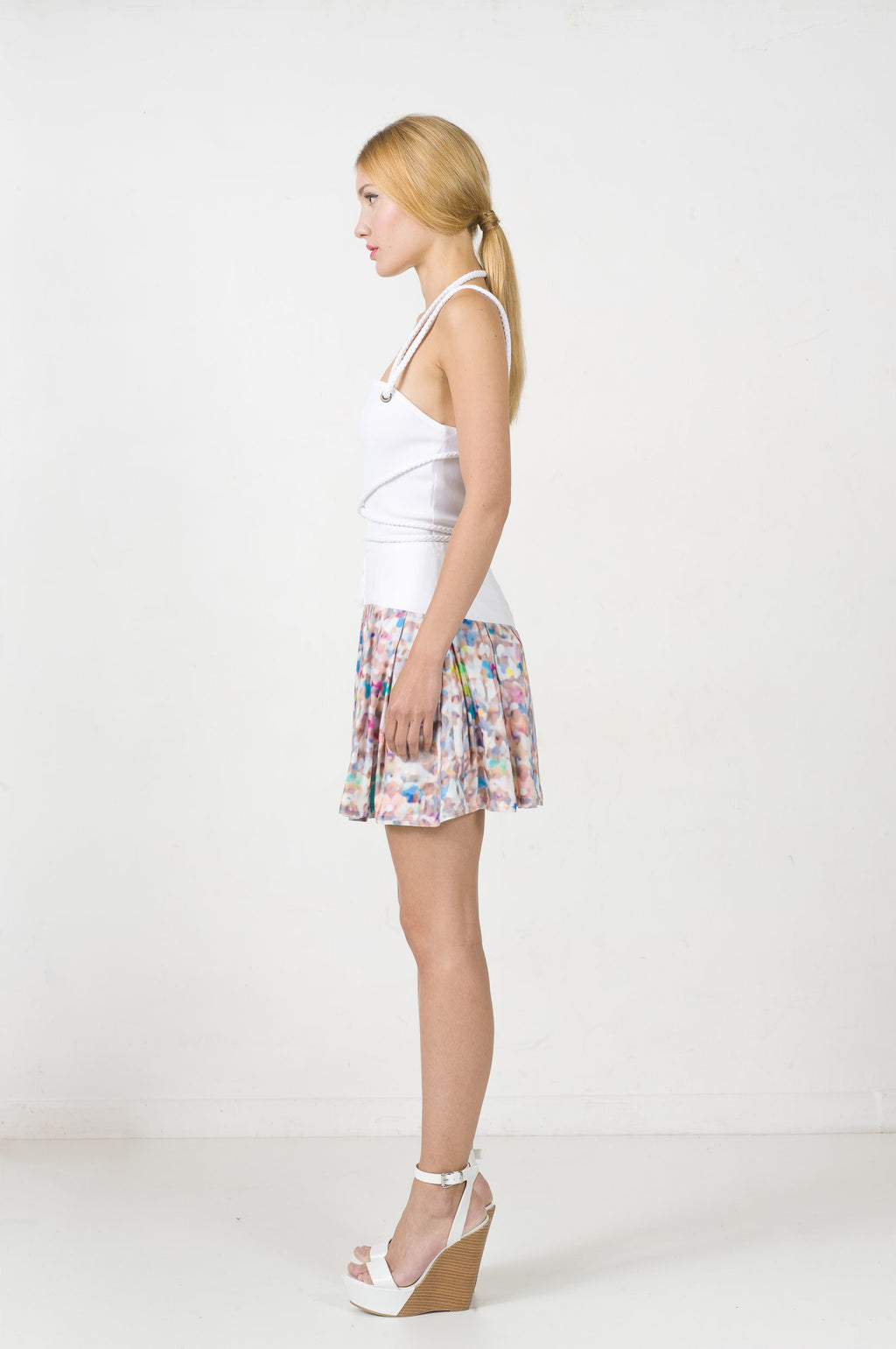 EON PARIS Printed Skirt