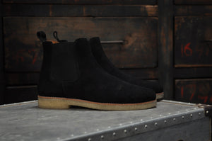 HOUND & HAMMER The Maddox 2 Boot in Black Suede