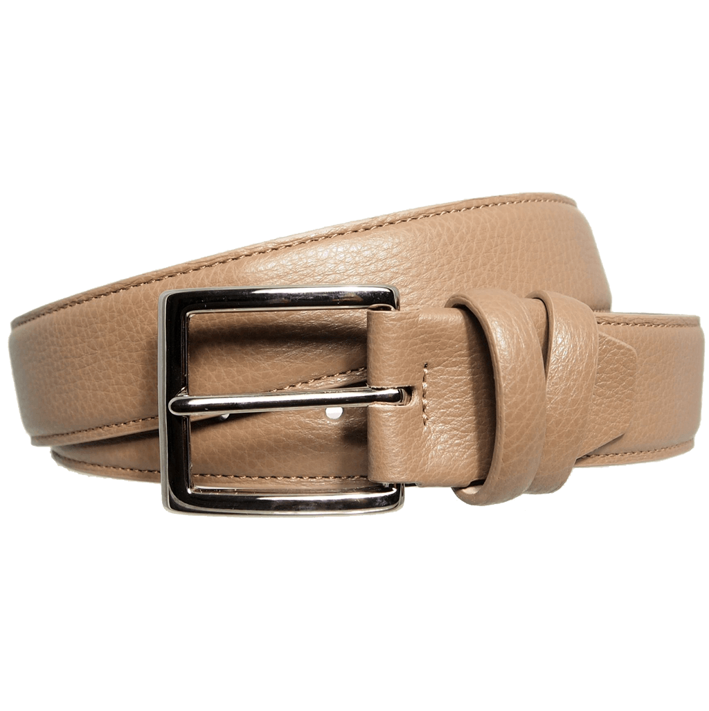 72 SMALLDIVE Duo Ply Calf Leather Belt in Taupe