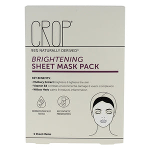 CROP Brightening Sheet Masks (5)
