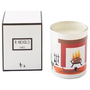 R NICHOLS Candle in Glow